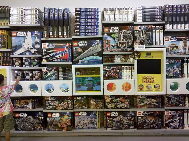 Bridgewater Lego store SW 2012 sets