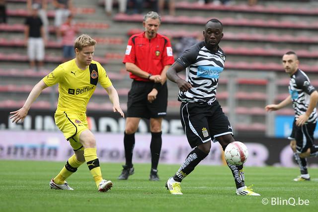 Charleroi - Club Brugge (4 augustus 2012)
