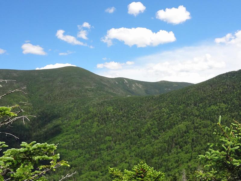 View of Galehead Hut