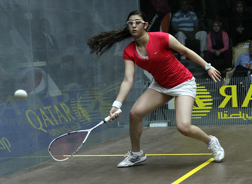 Nour El Sherbini | by Doha Stadium Plus
