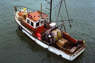 Fishing boat Vanda at Timaru