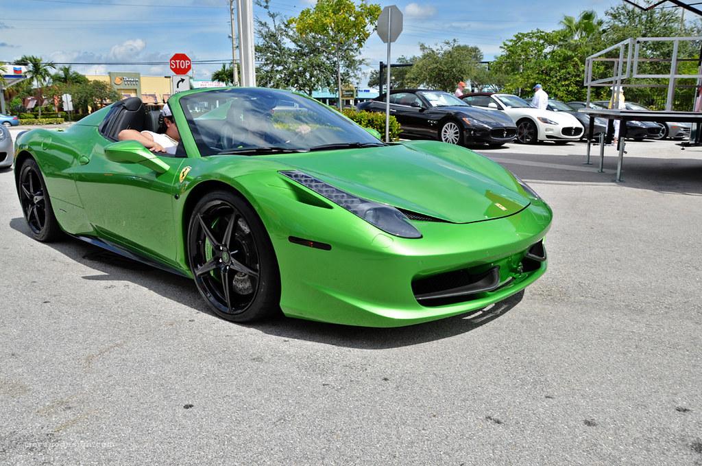Ferrari Ft Lauderdale Bbq Drive Dolphin Stadium Flickr