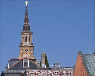 Steeple of St. Philip's Episcopal Church -- Charleston (SC) 2012 | by Ron Cogswell