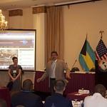 Fri, 08/17/2012 - 07:08 - Dr. Luis Bitencourt, CHDS Dean of Academics, and Ms. Faith Pippin, CHDS Asst. Alumni Coordinator