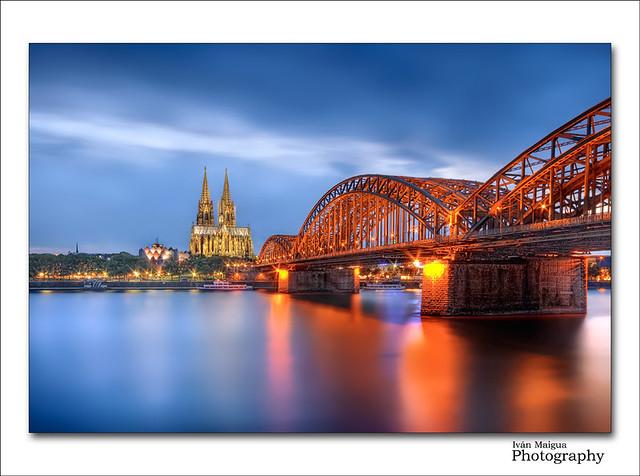 Hohenzollern Bridge - Cologne (Köln) - Germany