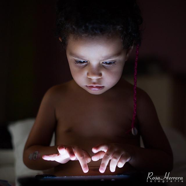 Olivia y las nuevas tecnologías