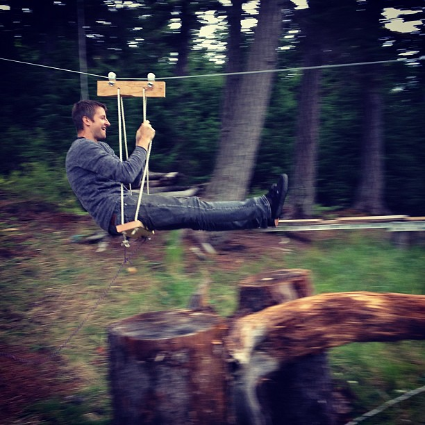 Homemade zipline! | by jabru