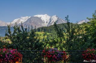 Le balcon du Mont - Blanc  - Steve.© - | by Steve-©-foto