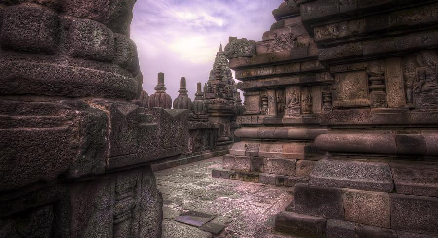 Ancient Temple Passage