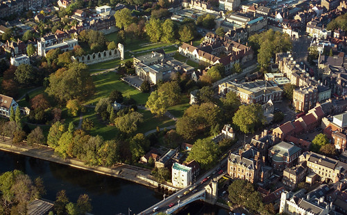 York from the air 1986