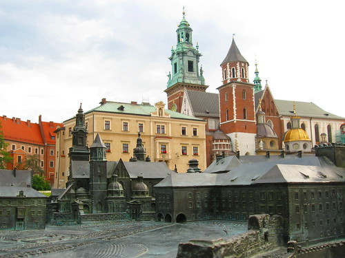 Wawel in Bronze Minature and Brick Actual | by adamsfelt