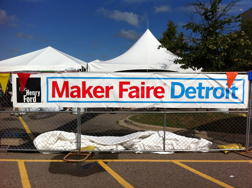 MakerFaire sign