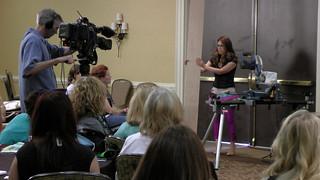 Ana presenting