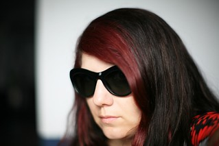 self with sunglasses - I look a little too Roy Orbison here | by massdistraction
