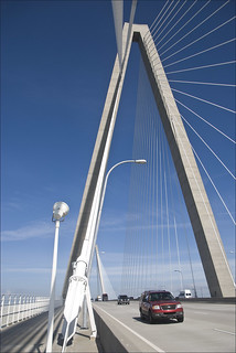 Arthur Ravenel Jr. Bridge -- Charleston (SC) July 2012   by Ron Cogswell