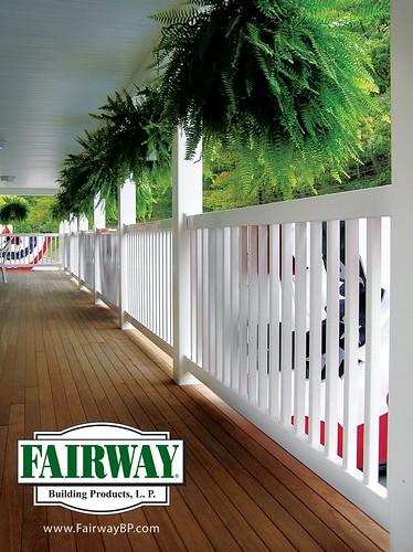 Fairway Vinyl Deck Railing | www.FairwayBP.com Take a ...
