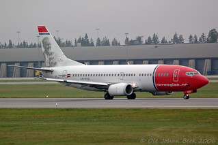 Norwegian B737-36Q LN-KKQ at ENGM/OSL 14-10-2006 | by Ole Johan Beck