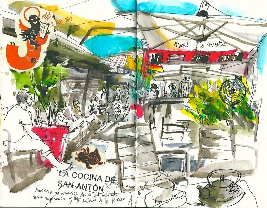 Mercado De San Antón Madrid Inma Serrano Flickr