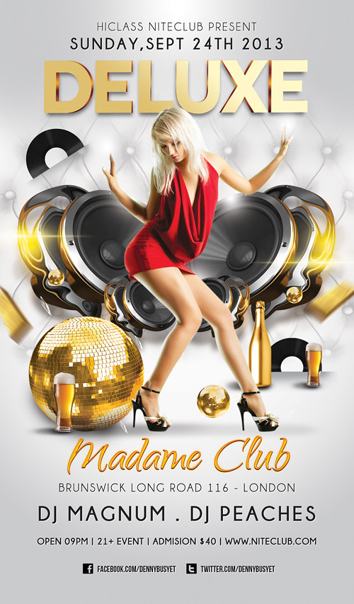 Deluxe Nightclub Flyer Template Download Psd Here