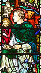 St Luke by Margaret Agnes Rope, 1912