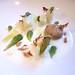 Cauliflower, Fir, Beechnuts and Buttermilk at Villa Merton