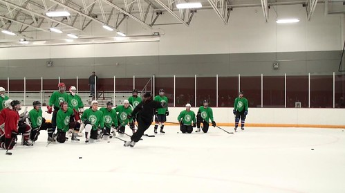Brad Perry Coaching at junior showcase  2 | by Brad Perry