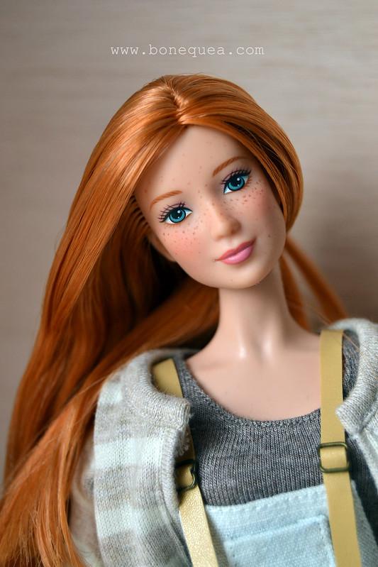 Florence. Ooak Barbie: freckles.