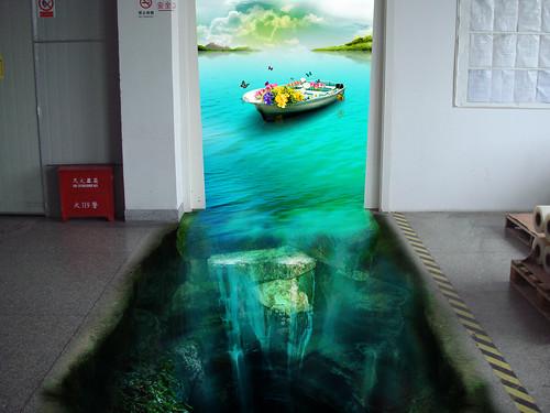 3D poster | by 3D floor sticker - YeJun