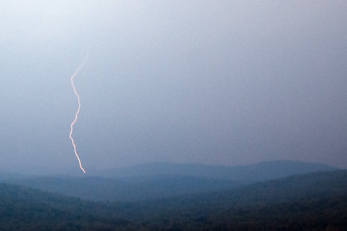 summer storm berkshires lightning