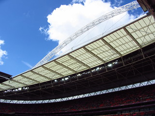 London 2012 Olympics - Looking up at the Wembley Arch | by 96tommy