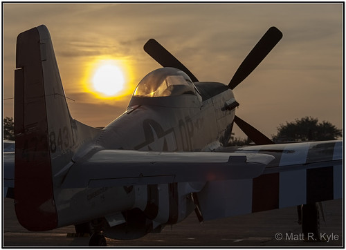 sky clouds sunrise canon airplane flying fighter aircraft airshow mustang warbird willowrun thunderovermichigan