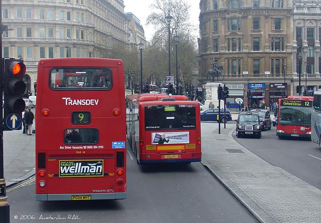 London Travalgar Square