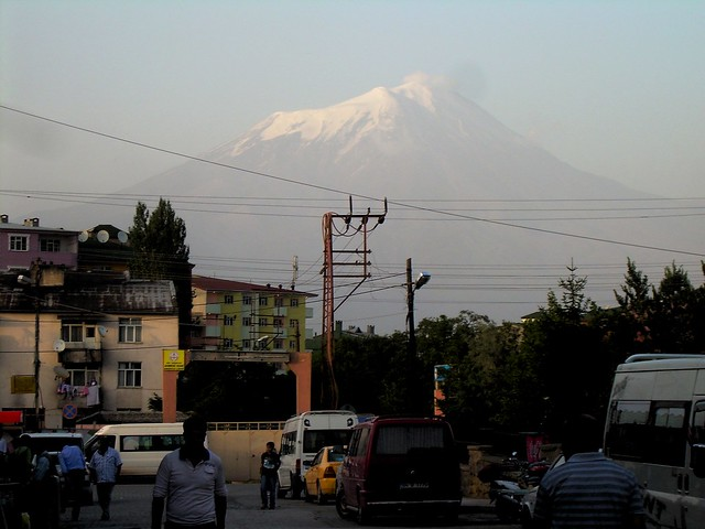 Not a great photo, but, hey, it's Mt. Ararat by bryandkeith on flickr