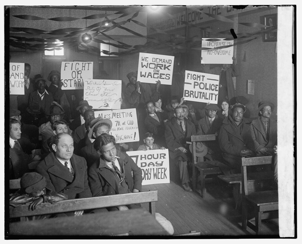 Unemployment Rally in DC: 1930 # 1