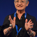 Jacqueline Wilson on stage | Jacqueline Wilson takes to the Book Festival stage