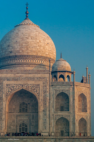 Taj Mahal just after sunrise - Agra, India | by Phil Marion (184 million views - THANKS)