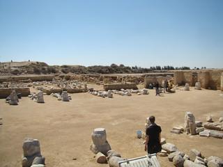 Ruins of the Great Basilica at Abu Mena (IV)   by isawnyu