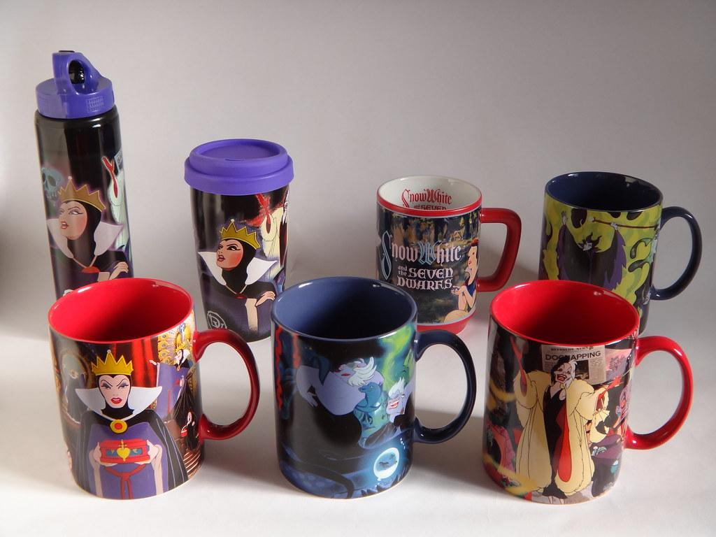 Mug Villains Classic And Dis…Flickr Snow Drinkware Disney White 3KFuTl1Jc5