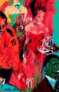1968     cocktails! | artist- Leroy Neiman | James Vaughan
