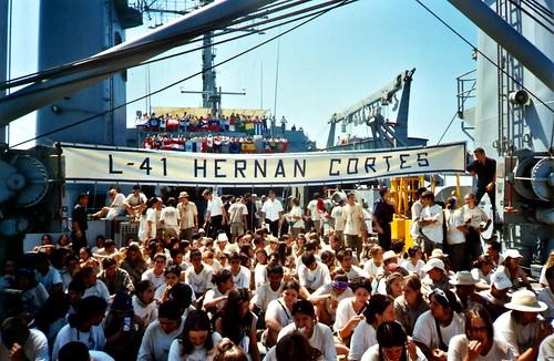 178 - Buque de la Armada. Foto de Grupo.   by LuisJouJR