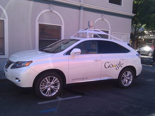 Google self-driving car in Mountain View | by MarkDoliner