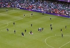 Team GB match v Uruguay