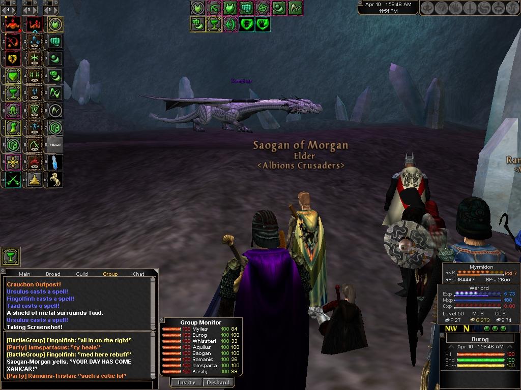 Daoc Dragon Raids Dark Age Of Camelot Game Screenshots Raphael