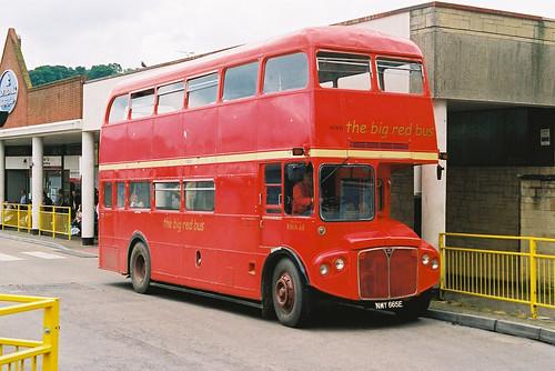 bea routemaster yeovil bigredbus nmy665e rma65