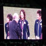 Olympic Women's Football Medal Ceremony @ Wembley Stadium