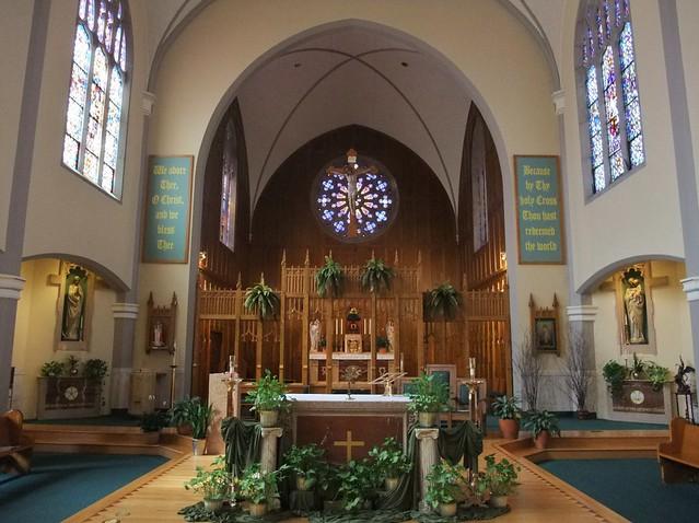 Holy Cross Catholic Church, Mendota, IL