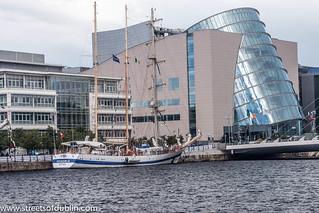 STS Pogoria - Tall Ships Race Dublin 2012