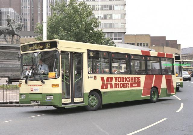 Yorkshire Rider 3001 (L101PWR)
