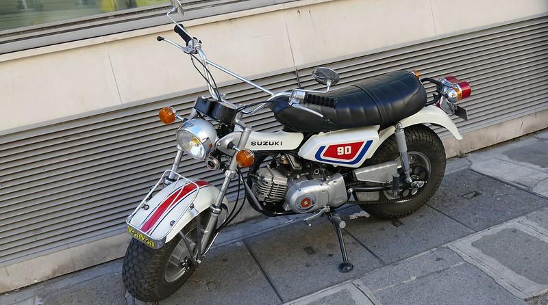 Suzuki 90 Van Van 1974  29173187796_74b2d23906_c
