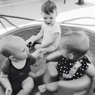 These #kids are having one SERIOUS #conversation! #babytalk   by Rachel Demsick PHOTO